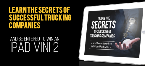 FREE WEBINAR: The Secrets of Successful Trucking Companies