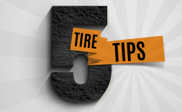This is how we roll...how the right tires can help you save on fuel.