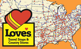 Love's Opens two new Travel Stops