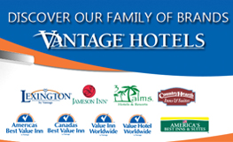 Now save 15% at all Vantage Hospitality Group hotels!