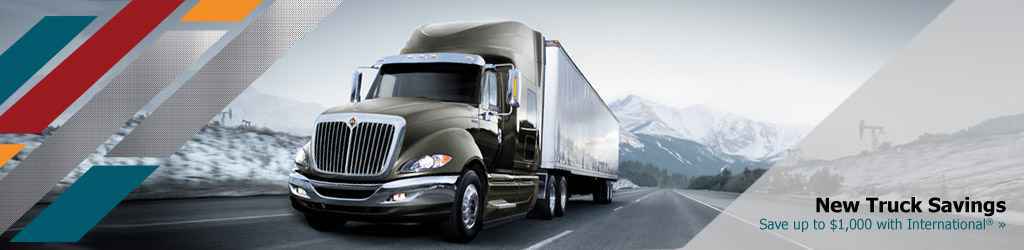 Save on new International Trucks